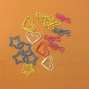 Other - 🎉 Adorable paper clips FREE with any purchase